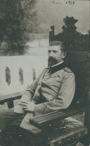 Regele Ferdinand I la Bicaz 1918 ©Academia Romana