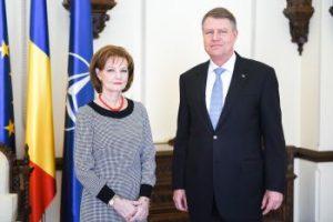 ASR Principesa Mostenitoare Margareta si ES domnul Klaus Werner Johannis (copyright- Dragos Asaftei)