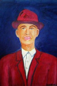 Bruno Herscovici, Omul in rosu